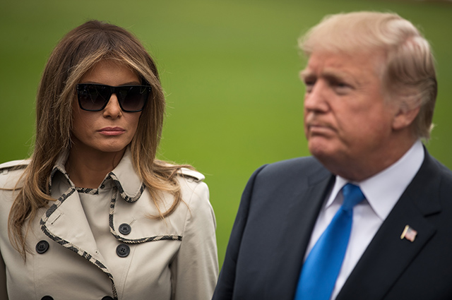Теория заговора: Меланию Трамп заподозрили в использовании двойника