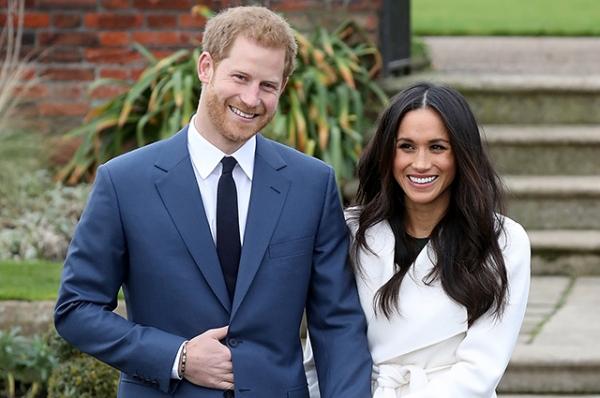 Меган Маркл и принц Гарри помолвлены