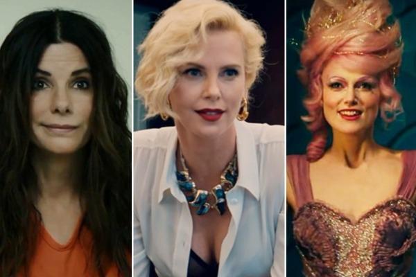 Трейлеры фильмов «Щелкунчик и четыре королевства», «Опасный бизнес» и «8 подруг Оушена»