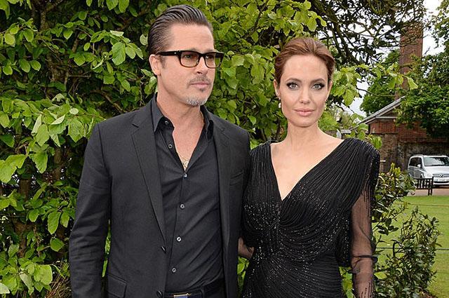Анджелина Джоли и Брэд Питт впервые появились вместе на публике после развода [Фото]