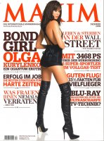 Olga Kurylenko in Maxim  Dezember 2008 / Ольга Куриленко в журнале Максим [ ...
