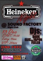 Night show in SoUnD FacTory club!!!