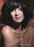 Софи Марсо - Sophie Marceau in Elle France - Январь 2009 [4 скана]