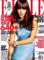Jessica Alba - ELLE March 2009 [8 фото]