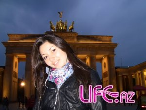 Сафура посетила Берлин [7 фото]