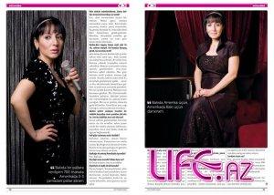 Эмма Алекперзаде на страницах известного журнала